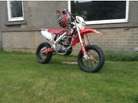 Crf450 X Honda road reg super moto not rm yz kxf kx Rmz cheap cheap Bargin