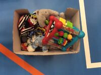 Mixed Box of Baby Toys