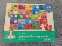 Alphabet discovery puzzle