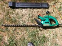 Hedge Trimmer. Black and Decker. 240 Volt mains.