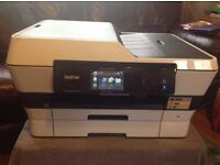 Nearly New Brother MFC-J6920DW All-in-One A3 Inkjet, Duplex Fax, Wireless Printer with coloured ink.