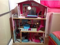 Large Dolls Mansion House for Sale 3 ft Tall