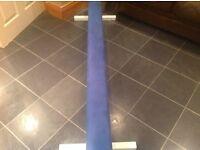 Blue gymnastics beam for sale