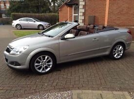 Vauxhall Astra Convertible 1.8I 16V VVT TWIN TOP DESIGN (beige) 2008 Sport Edition