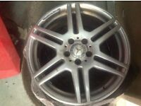 Mercedes w212 Wheel 18 Original AMG