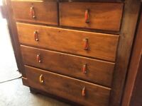 Large Edwardian chest of drawers