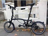 BRAND NEW Brompton S6L Black Edition Telescopic Seatpost 2017 Folding Bike
