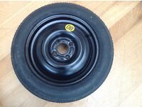 Space saver wheel Continental R15 125 / 80 from Ford Focus