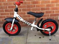 Children's Kettler balance bike - just like a real bike without pedals