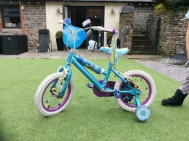 "14"" Disney Frozen bike"