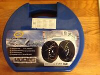 """New Snow Chain 1 x Pair 12mm will Fit a range of 13"""" - 16"""" Tyres"""