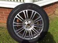 FREELANDER 2 ALLOY WHEEL AND TYRE