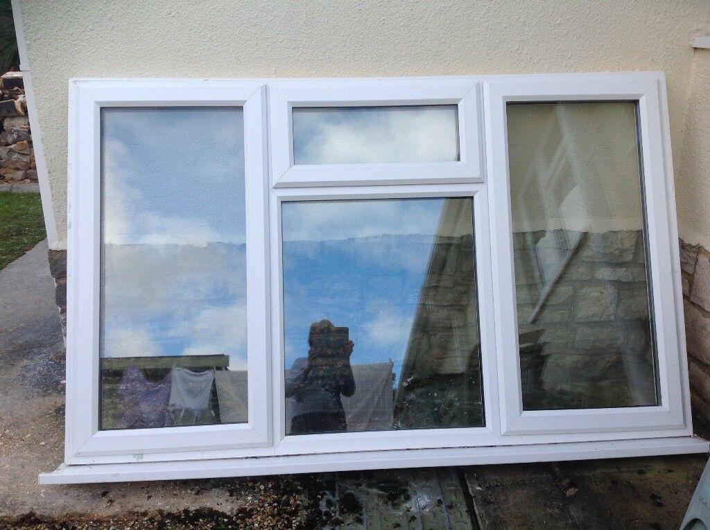 Window Frame Double Glazed White 200cm X 126cm In
