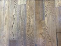 Solid Oak Tiger Eye Wood Floor Brand New Packaged 56msq