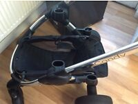 I candy peach 3 double marshmallow pushchair for sale