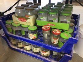 Free used jam jars