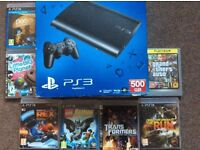 Ps3 500 go one control 7 games £75