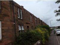 Alloa, Smithfield Loan upper one bed flat.