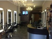 HAIR SALON CHAIR RENT £35 PER DAY WITH USE OF SECOND STYLING STATION AS REQUIRED