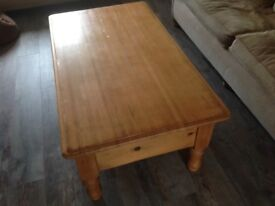 Solid Pine Living Room Table