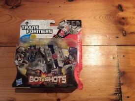 Transformers Bot Shots Launcher Battle Game - Optimus Prime Launcher