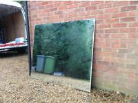 56.5 x 46.5 inch Gym Mirror with Drilled Holes (Delivery Available)
