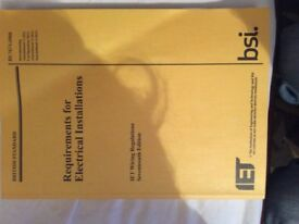 17th Edition IET Wiring Regulations used book