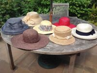 Selection of hats.