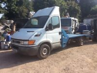 Iveco recovery vehicle long body electric winch 3.5 t diesel taxed for use