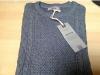 M&S Men's cable knit jumper - BNWT