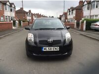 2008 Toyota Yaris 1.3 TR 5dr hatchback petrol manual 1 owner 49000 miles black full history £2995