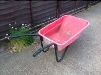 Garden / builders / stable yard wheel barrow large