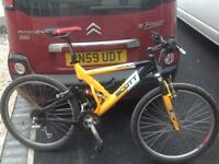 Scott full suspension mountain bike