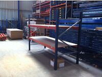 MECALUX HEAVY DUTY INDUSTRIAL COMMERCIAL WAREHOUSE PALLET RACKING UNIT BAYS