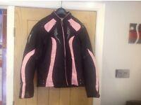 Ladies motorcycle jacket& trousers