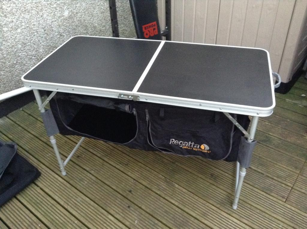 Folding Camping Table With Storage Modern Coffee Tables