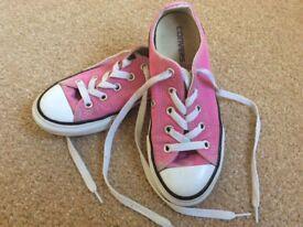 Converse canvas shoes