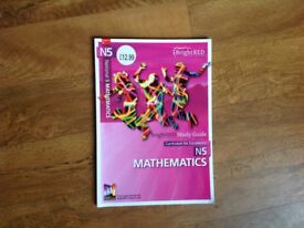 Natinal 5 maths book.