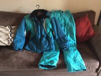 Women's Ski Jacket and Trousers