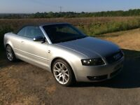 Audi S4 Cabriolet, Manual, FSH, Full Milltek, Revo tuned 360 bhp+, great condition with £££s spent