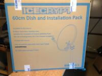 Free sat Dish and Installation Pack