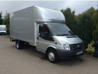 Transit 350 Luton with tailift 13,6 body 6 speed 2011 61 reg