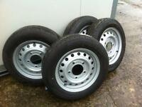 Cattle trailer wheels livestock trailer wheels fits ifor Williams nugent trailer