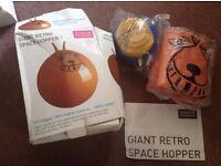 Giant retro space hopper