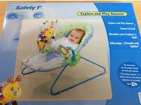 Safety 1st explore and play bouncer new