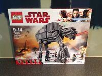 Star Wars Lego First Order Heavy Assault Walker 75189