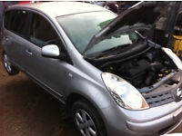 NISSAN NOTE 1.4i 2008 FOR PARTS!