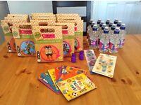 Job lot of kids craft sets, party bag ideas