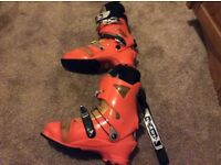 Scarpa f3 ski touring boots with walk mode size 11