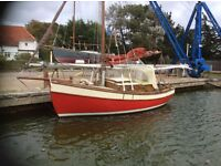 Classic Small Yacht - Designed by John Leather: Boatbuilder David Moss